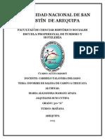 Informe de Chiguata