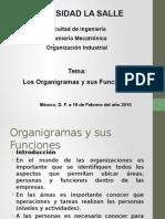 Organizaciones y Sus Funciones contabilidad