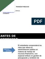 PRESENTACION CURSO FINANZAS