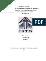 Proposal Skripsi ISTN