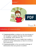 Mastering Soft skills-Communication