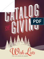 2015 Catalog of Giving