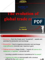 Lecture-13 Evolution of Global Trade