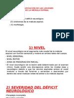 Clasificación de Las Lesiones Tvm