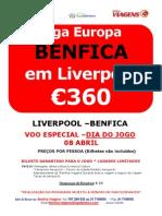 Liverpool x Benfica