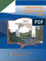 Statistik Daerah Kabupaten Tapin Tahun 2014