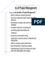 Chapter 2 - Benefits of Project Management