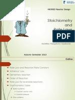 Lecture 4- Stoichiometry