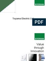 Toyama Electric Profile