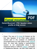 News Kamal Moumneh - FNC Speaker raises profile of Arab women