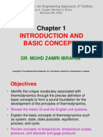 THERMODYNAMICS (TKJ3302) LECTURE NOTES -1 INTRODUCTION AND BASIC CONCEPTS