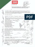 Acta de la Firma del Convenio 2015-2017