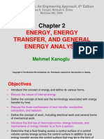THERMODYNAMICS (TKJ3302) LECTURE NOTES -2 ENERGY, ENERGY TRANSFER, AND GENERAL ENERGY ANALYSIS
