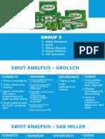 Group 5 - Grolsch Globally