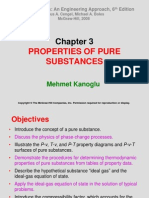 THERMODYNAMICS (TKJ3302) LECTURE NOTES -3 PROPERTIES OF PURE SUBSTANCES