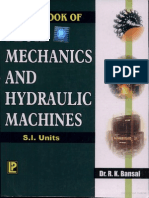 Fluid mechanics by R K Bansal PDF