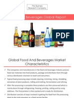 Food and Beverages Global Report
