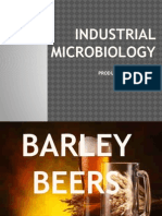Industrial Microbiology Lecture Ix