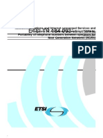 ETSI TR 184 003 - Portability of Telephone Numbers Between Operators for NGNs