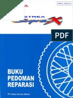 Manual book Honda Supra