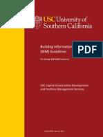 BIM Guidelines Ver1.6 USC 2012