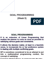 Week5(GoalProgramming)