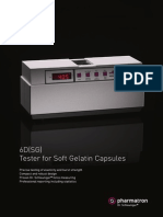 Sotax Pharmatron Hardness Tester 6DSG