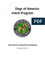 Guide Dog Patch Program