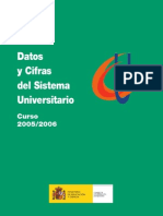 Datos y cifras del sistema universitario