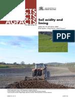 Soil Acidity Liming
