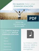 Un Canto Nuevo para una Nueva Evangelización