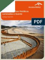 P Catálogo de Estaca-Prancha Metálica ArcelorMittal.