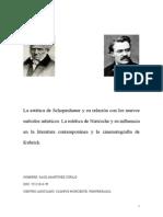 La Estética de Schopenhauer y La Estética de Nietzsche