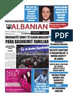The Albanian newspaper 25th of November 2015