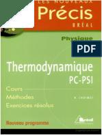 Précis Thermodynamique PSI by ExoSup.com