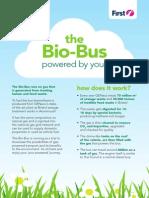 The Bio Bus explained