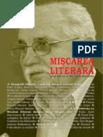 Mişcarea Literară nr 4 2015