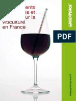 Changements climatiques et impacts sur la viticulture en France