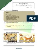 A.2.2 Ficha de Trabalho O Egipto 1