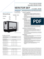 P40PB(1004G) Genset