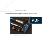 Adafruit VS1053 Mp3 Aac Ogg Midi Wav Play-And-record CODEC Tutorial