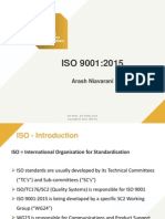 ISO 9001 & ISO 140001 2015 version