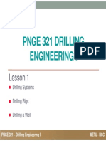 PNGE 321 Drilling Engineering 01