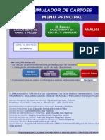 Simulador de Cartoes de Pagamentos-Sebrae