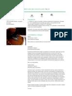 Recetario Thermomix® - Cobertura de Chocolate