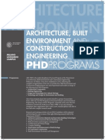 Architecture Built Environment and Construction Engineering 01