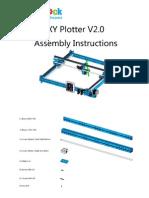 XY Plotter V2.02 Assembly Instructions