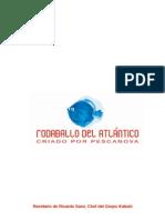 Recetas de rodaballo del Atlantico criado por Pescanova y  realizadas por el chef Ricardo Sanz