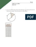 SYLVAN SAT MATH (circa 2006) Geometry, p108, #14