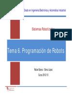 SR T6 ProgramaciónRobots
